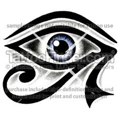 TattooFinder.com : Egyptian Eye tattoo design by George Egyptian Eye Tattoos, Tatting, Tattoo Designs, Pottery, Eyes, Tatoo, Hipster Stuff, Ceramica, Needle Tatting