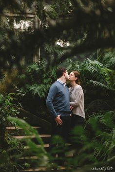 Lincoln Park Conservatory engagement