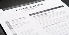 Resume template