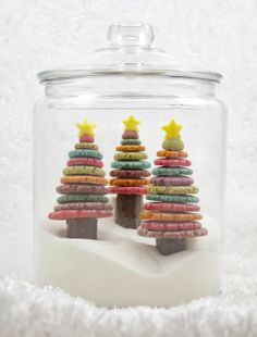 Project Denneler: Edible, Colorful, Christmas Tree Cookies
