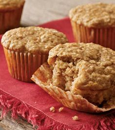 Quick and Easy Banana-Oat Muffins Perfect morning breakfast for baby Jacob!  I substituted coconut oil for canola and I made a full batch of mini-muffins (350 for 13-14min).  We freeze the left overs! Makes 40+ minis