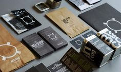 Branding & Identity for 'The Tea Shop', includes menus, tuns, leaflets and bags