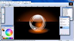 HELEN's Paint.NET tutorial-Make a Glossy Orb.