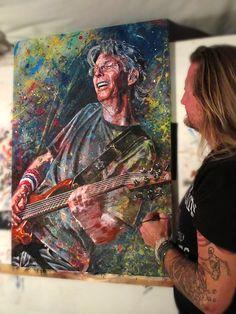 Grateful Dead, Good Ol, Painting Prints, Legends, Vibrant Colors, Rocks, Concept, Sculpture, Led