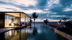 Alila Villas Soori — Kerambitan, Indonesia, all on a black sand strand that's a bit of a departure from the usual Bali beach