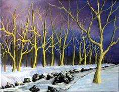 """Late Evening Light"" 11 x 14 Acrylic Painting by Steve Duprey. www.dupreyart.com Late Evening, Waves, Artwork, Painting, Outdoor, Outdoors, Work Of Art, Auguste Rodin Artwork, Painting Art"