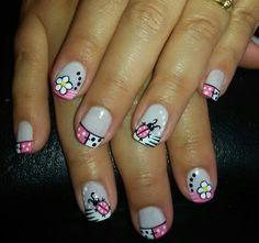 Uñas Fashion, Hair Designs, Hair And Nails, Floral Design, Nail Art, Nail Ideas, Diana, Beauty, Designed Nails