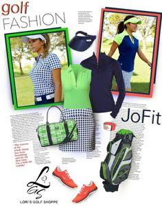Lori's Golf Shoppe in Polyvore Featuring #JoFit Ladies Apparel! #golf #polyvore #lorisgolfshoppe