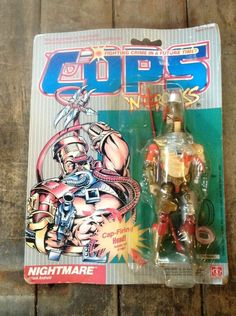 1988 Hasbro vintage COPS 'N Crooks Nightmare MOC C.O.P.S. #Hasbro