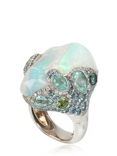 (another view of) Ocean Breeze opal ring E