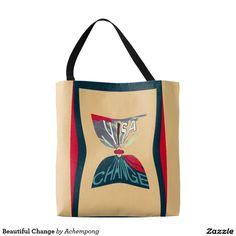 #Beautiful Change Tote Bag