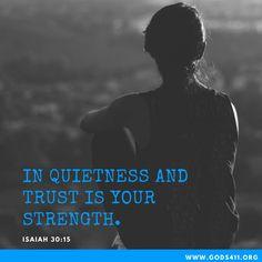 Isaiah 30:15 | Bible Verse
