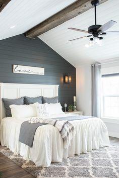 Country Master Bedroom, Master Bedroom Bathroom, Master Bedroom Makeover, Dream Bedroom, Home Decor Bedroom, Bedroom Ideas, Rustic Master Bedroom Design, Master Bedroom Addition, Bedroom Rustic