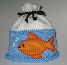 Ravelry: Goldfish In A Bag Hat pattern by Carol White