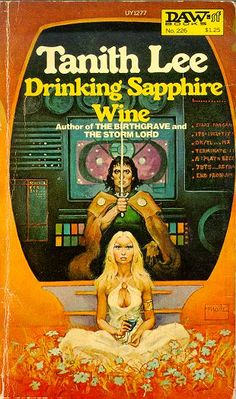 Drinking Sapphire Wine, by Tanith Lee
