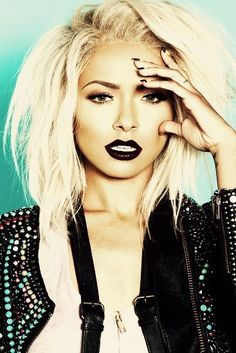 Kat Graham. She is such a babe & rules as a blonde. I without a doubt love her fashion sense!