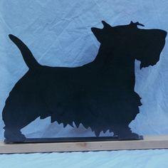 Scottish Terrier Scotty Dog Mailbox Topper by ModernIronworks, $16.99