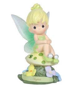 This August Tinker Bell Figurine by Disney Showcase Collection is perfect! #zulilyfinds