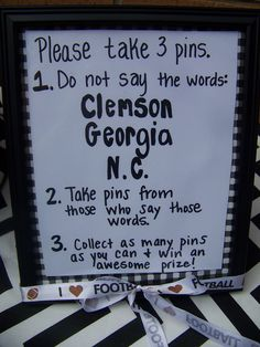South Carolina Gamecocks football tailgating party 2013. The Pin Game.