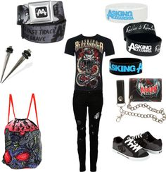 """For the guys(:"" by piercetheveil98 on Polyvore"