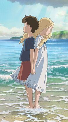 Top 5 Must See Studio Ghibli Movies: When Marnie Was There Totoro, Ap Studio Art, Film Studio, Hayao Miyazaki, Erinnerungen An Marnie, Priscilla Ahn, When Marnie Was There, Chihiro Y Haku, Studio Ghibli Movies