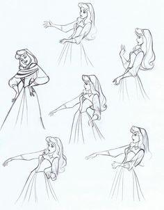 صورة من http://img1.wikia.nocookie.net/__cb20131231151437/disney/images/0/0f/Sleeping_beauty_disney_drawing_model_sheet_4.jpg.