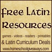 Free Latin Resources & Curriculum Deals | Homeschool Giveaways