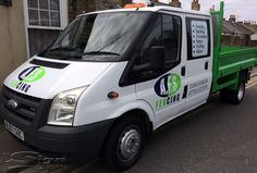 22968a2aedaa5f Van graphics vehicle livery design for Thanet based  AFS Fencing  Ford  Transit van