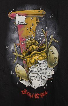 Pushead - Metallica - Death is Pain