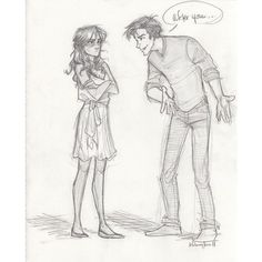 Robin and Matthew by burdge-bug ❤ liked on Polyvore