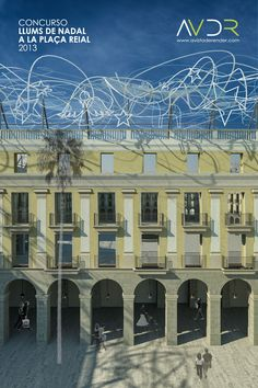 Proposal for christmas lighting contest in pla 231 a reial barcelona