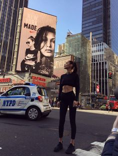2016 is turning out to be a big, big year for Bella Hadid. She's gotten major gig after major gig, from Calvin Klein to the Victoria's Secret Fashion Show. Now, she joins Nike!