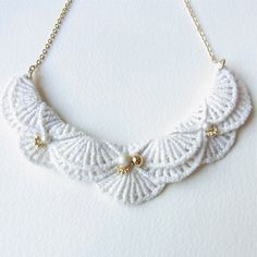 An Meru Lace Necklace  Limited edition by HOMAKO on Etsy, $50.00  http://www.etsy.com/listing/114253750/an-meru-lace-necklace-limited-edition