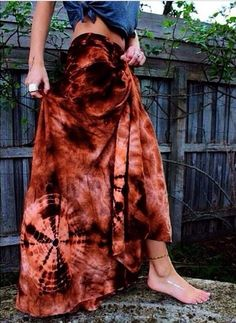 """Wanderlust tie-dye wrap skirts N E W / Sunday Market - (back in the 70's, when """"all this"""" was relatively new, I couldn't sew then tie-dye wrap skirts, tops and dresses, fast enough! Everyone wanted them!!!)"""