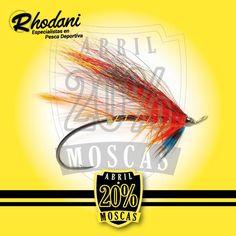 -20% de descuento todas las moscas de pesca en Rhodani durante Abril. Elige moscas y a pescar! http://shop.rhodani.com/mosca/es/17-moscas…