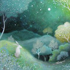 Star Light Painting by Amanda Clark