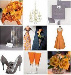 gray and orange