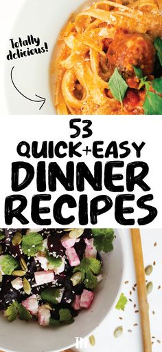 Quick and easy dinner recipes | dinner recipes for the family | dinner recipes for two | Learn how to make delicious recipes that take less than 30 minutes to cook! Easy Delicious Dinner Recipes, Quick Easy Dinner, Easy Meal Prep, Healthy Dinner Recipes, Delicious Food, Cheap Easy Meals, Cheap Dinners, Meal Prep Grocery List, Healthy Family Dinners