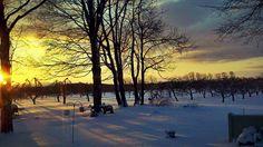 Elk Rapids, Michigan Sunrise!  My Last Vacation :)