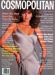 Cosmopolitan magazine, OCTOBER 1982 Model: Paulina Porizkova Photographer: Francesco Scavullo