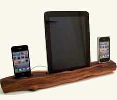 Dual iPhone or iPod Charging Dock. Ideal for the #apple gadget person