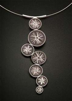 Carla Pennie Jewelry Design – Pendants – Evening Stars Pendant
