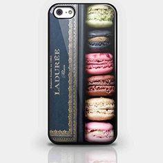 Laduree Paris Macarons Case custom hard plastic phone cases For iPhone 4 4S 5 5S SE 5C 6 6S 6Plus 7 7Plus phone cover