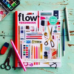 It is time for drawing fun! This Flow Sketchbook is filled with step-by-step drawing lessons from our Flow illustrators. A book chock-full lessons in the art of drawing. In shop (or at flowmagazine.com). With paper goodies as well. Please note that the book is bilingual (English and Dutch) #flowmagazine