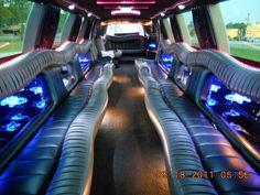Inside Passenger Stretch Suv Limo Fleet Pinterest Limo