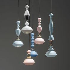 Lampada a sospensione / moderna / indoor / in rame BENBEN Jacco Maris Design