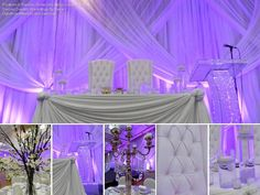Beautifully done by Dream Weddings by Veve and Modish Lounge Rentals. http://www.weddingshows.com