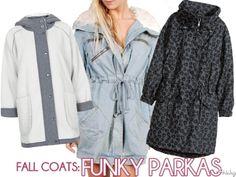 Fall Coats: Funky Parkas