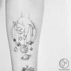 Planet Tattoo – Tattoo Insider Planet Tattoo Planets Tattoo by Karry Ka-Ying Poon Dream Tattoos, Future Tattoos, Body Art Tattoos, Small Tattoos, Sleeve Tattoos, Cool Tattoos, Tatoos, Tattoo Ink, Outer Space Tattoos