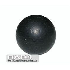 Rap4 Paintball 500 Count Rubber Training Balls - Black. Available at UltimatePaintball.com